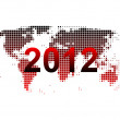 Stockfoto: World map 2012