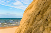 Steep shores of the Baltic Sea. Latvia — Stock Photo