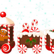 Royalty-Free Stock Vector Image: Christmas train