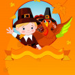 Happy Thanksgiving — Stock Vector #7564313