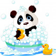 Pandhaving bath — Stock Vector #7686908