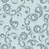 Ornamento gris transparente — Vector de stock