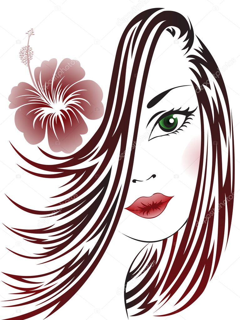 hair vector images - photo #15