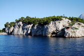 Stone island near Makarska, Croatia — Stock Photo
