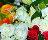 Boquet from roses — Stock Photo