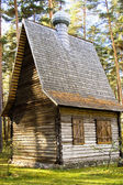 Old wooden church — Stock Photo
