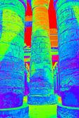 Columns with hieroglyphs — Stock Photo