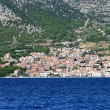 Croatian town Makarska — Stock Photo