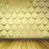 Camera vecchia con sfondi usurati e bellezza ex — Foto Stock