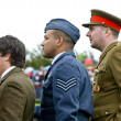 Goodwood revival visitors. - Stock Photo