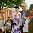 Stock Photo: Goodwood revival visitors