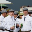 Stock Photo: Goodwood revival visitors.