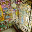 Graffiti of Christiania — Stock Photo