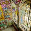 Graffiti of Christiania — Stock Photo
