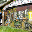 Stock Photo: Graffiti of Christiania