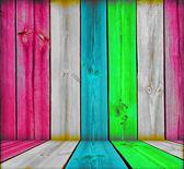 Kreativa trä rum — Stockfoto