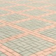 Tiled Pavement - Stock Photo