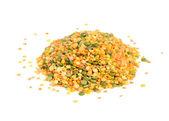 Legume Mix (Split Peas and Lentils) — Stock Photo