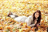 красивая молодая женщина — Стоковое фото