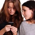 Women and phone — Stock Photo #7803325