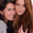 Two female friends — Stock Photo #7803339