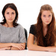 Two young girlfriends — Stock Photo #7803344