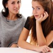 Two young women — Stock Photo #7803349