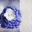 Stock Photo: Wedding card with Hydrangea