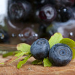 Stock Photo: Fresh bilberry
