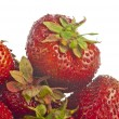 Stock Photo: Fresh red strawberry