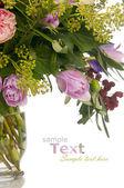 Nice creative tulip bouquet — Stock Photo