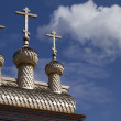 Royalty-Free Stock Photo: Wooden russian church