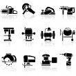 Stock Vector: Tools icons set