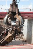 Recyklingu stali — Zdjęcie stockowe