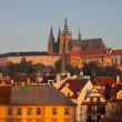 Prague Castle complex, detail - Stock Photo