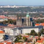 Prague Castle complex, detail — Stock Photo
