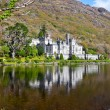 Kylemore Abbey and Castle - Stock Photo