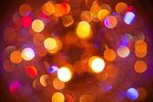 Blurred lights — Stock Photo