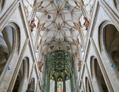 Historic cathedral indoor — Stock Photo