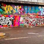 Graffitti Wall — Stock Photo