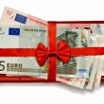 Euro gift — Stock Photo #6754988
