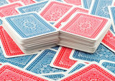 Deck poker cards — Stock Photo
