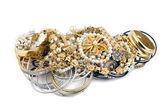 Gold diamonds — Stock Photo