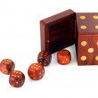 Dices in dice — Stock Photo #6850349