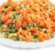 Vegetarian mix — Stock Photo
