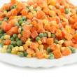 Stock Photo: Vegetarian mix