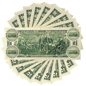 Dollar currency — Stock Photo
