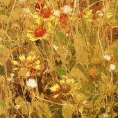 Kunst floral achtergrond — Stockfoto