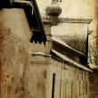 Art old city grunge paper — Stockfoto