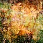 Art grunge floral background — Stock Photo #6776273